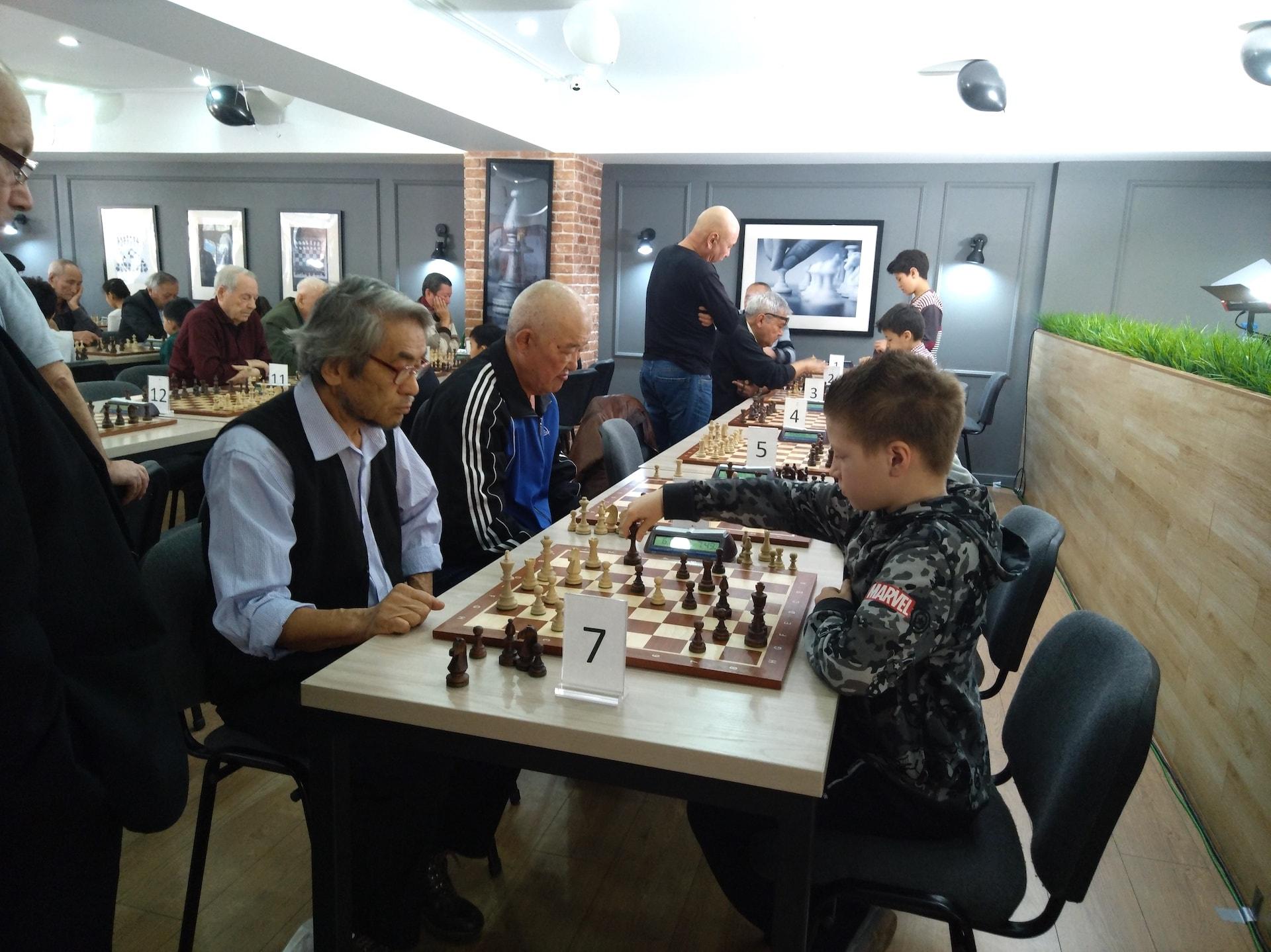 Шахматный турнир «Битва поколений 2018» посвященный борьбе с инсультом